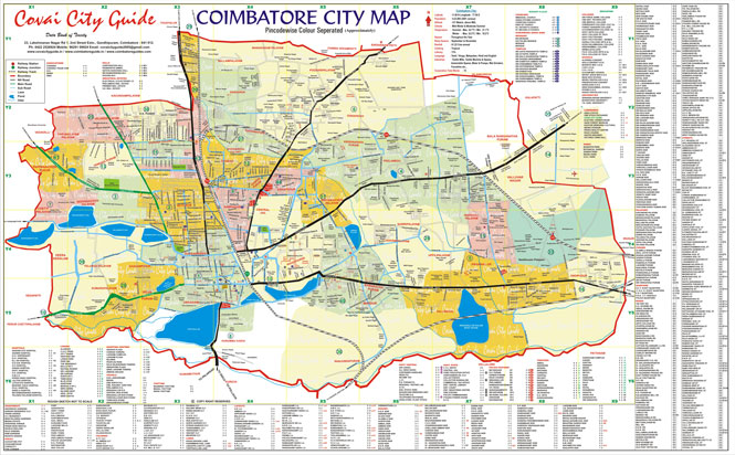 Covai City Guide Coimbatore Online Yellow Pages